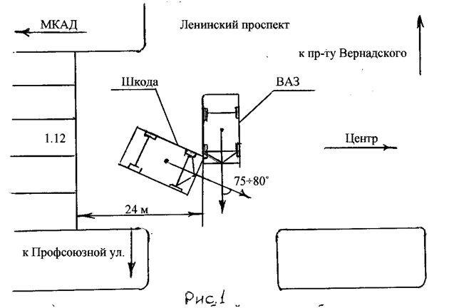 Пример автотехнической экспертизы № 3