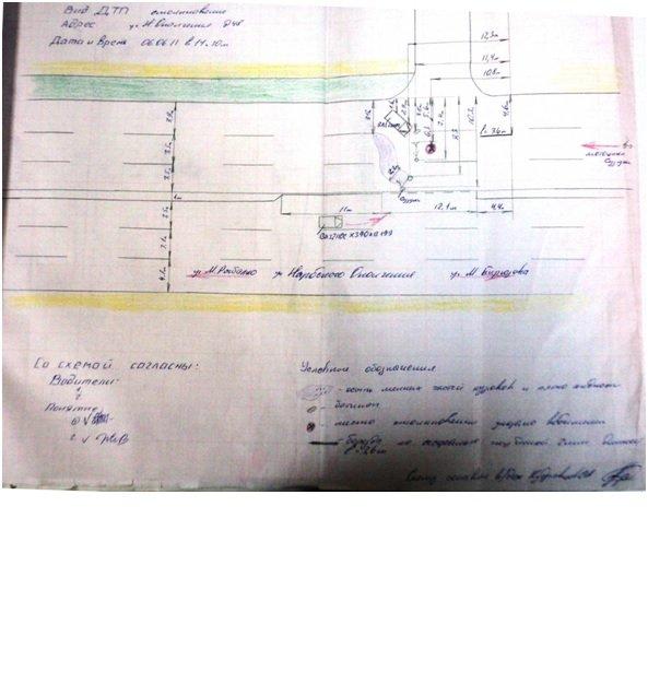 Пример автотехнической экспертизы № 1