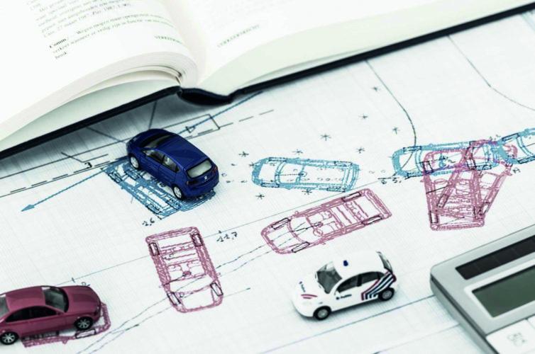 Пример рецензии автотехнической экспертизы (столкновение 2-х автомобилей)
